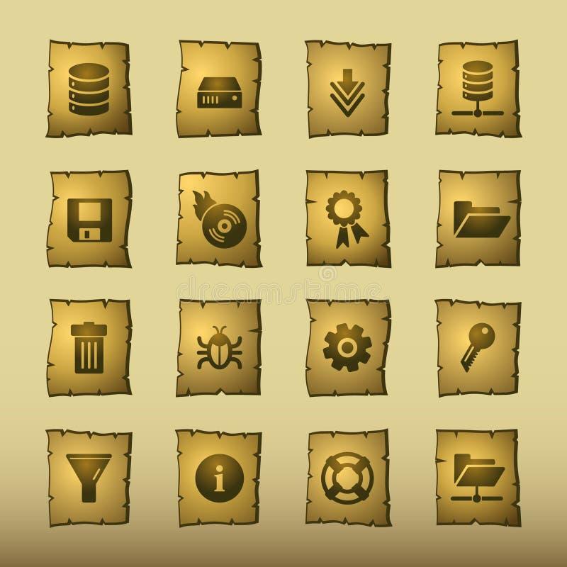 Ícones do server do papiro