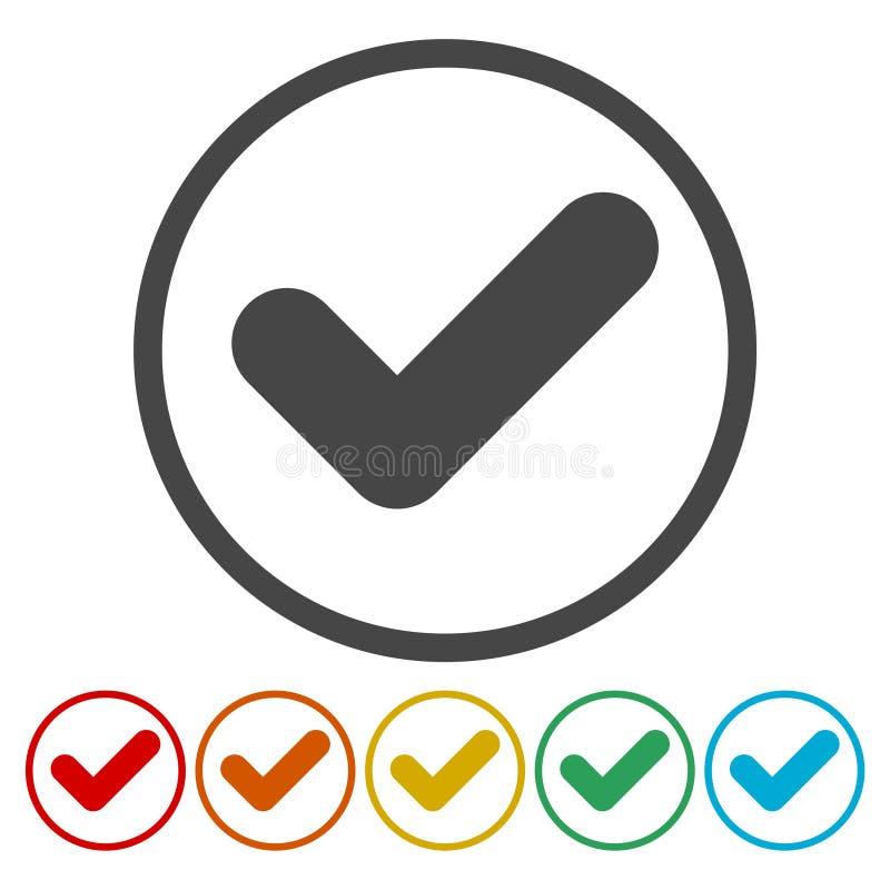 Ícones do sinal ajustados ilustração do vetor