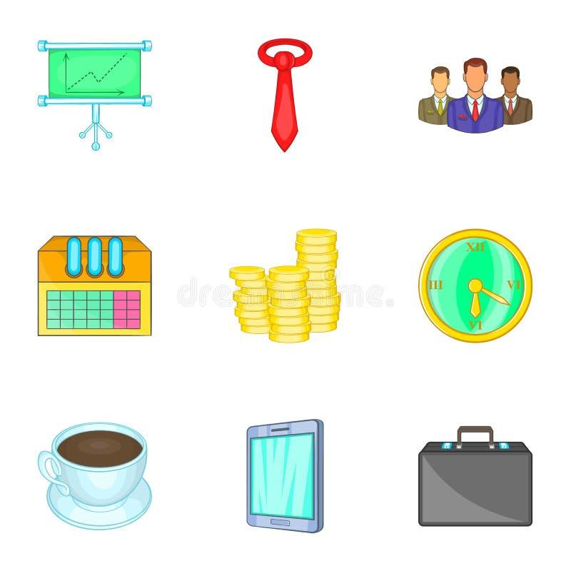 Download Ícones Firmes Ajustados, Estilo Dos Desenhos Animados Ilustração do Vetor - Ilustração de projeto, ocupação: 80101680