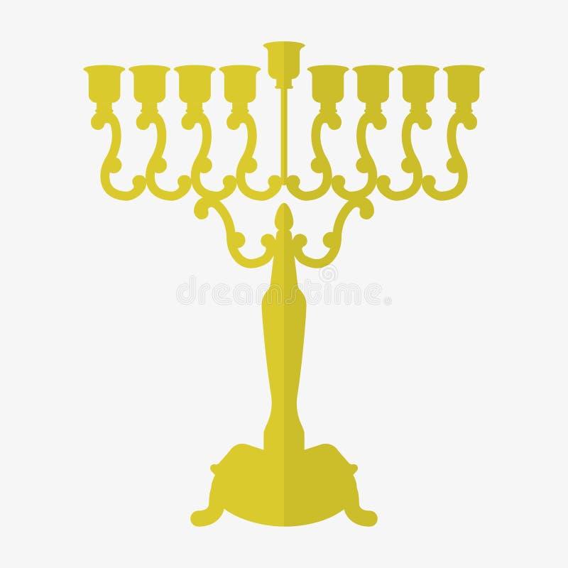 Download Ícones Judaicos Do Hanukkah Do Feriado Ajustados Ilustração Do Vetor Ilustração Stock - Ilustração de cartão, menorah: 80102914