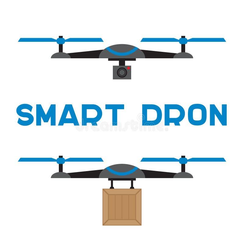 Ícones lisos dos quadrocopters