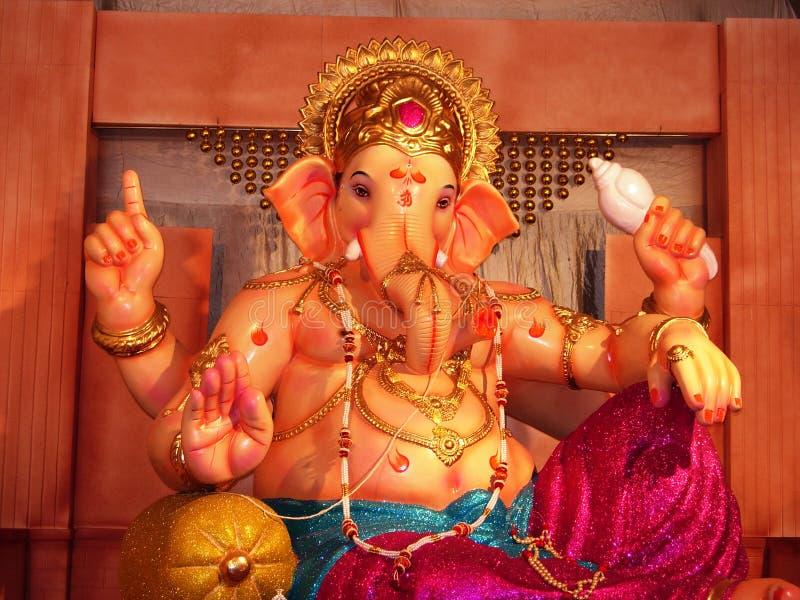 Ídolo bonito de Ganesh imagem de stock