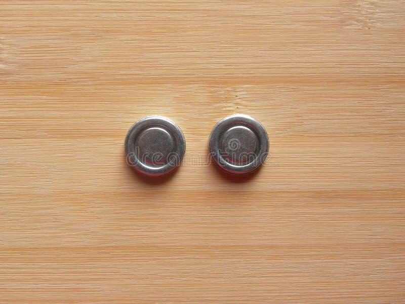 2 ímãs internos foto de stock
