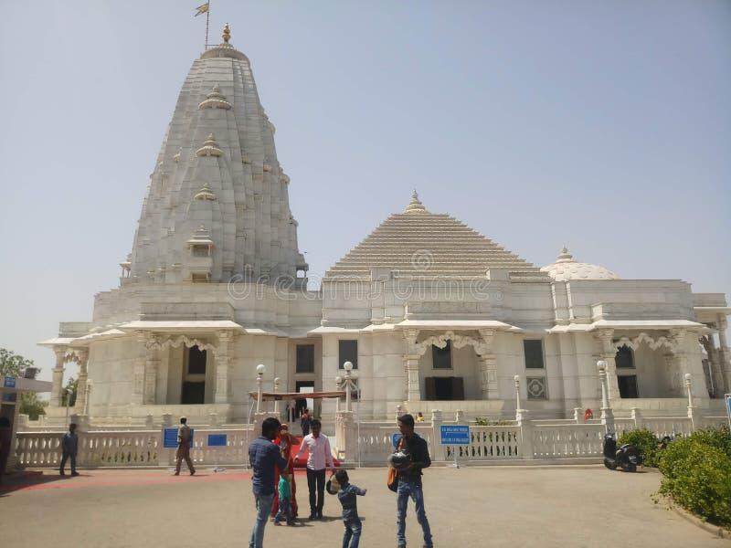 Índia de Birla Mandir Jaipur fotografia de stock