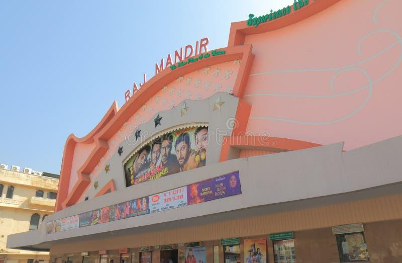 Índia de Jaipur do teatro do cinema do filme fotos de stock royalty free