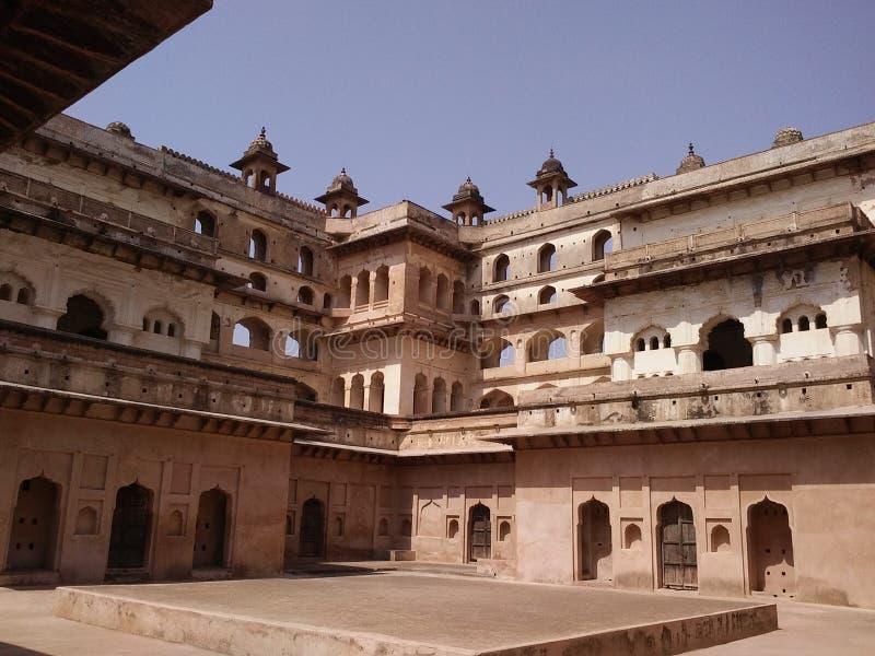 Índia de Madhya Pradesh do forte de Orcha foto de stock royalty free