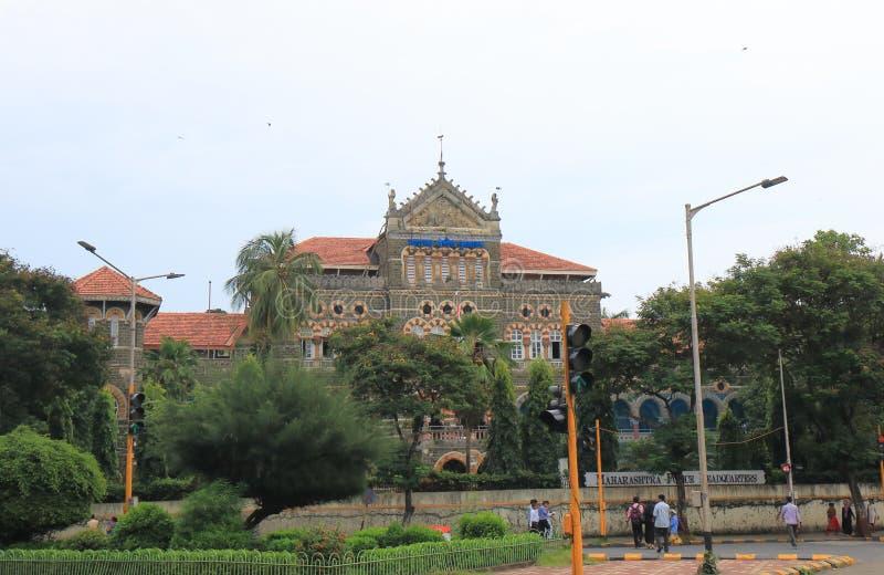 Índia indiana de Mumbai da polícia fotos de stock royalty free