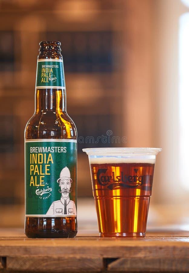 Índia Pale Ale de Brewmasters imagem de stock royalty free