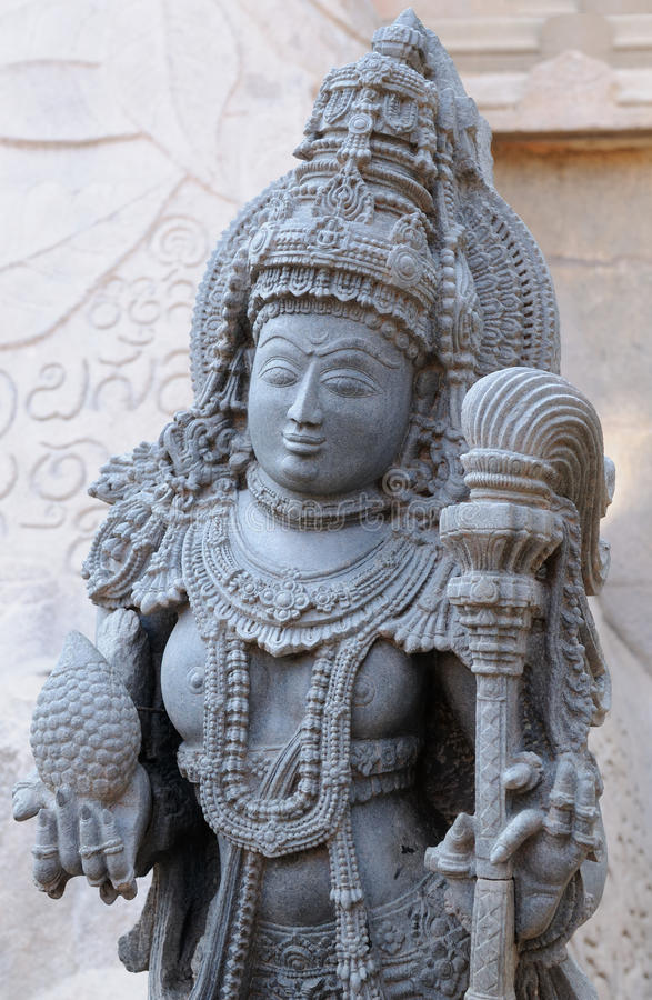Índia, templo de Chennakesava em Hassan imagens de stock royalty free