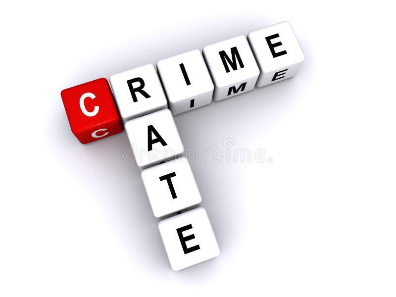 Índice de criminalidad libre illustration