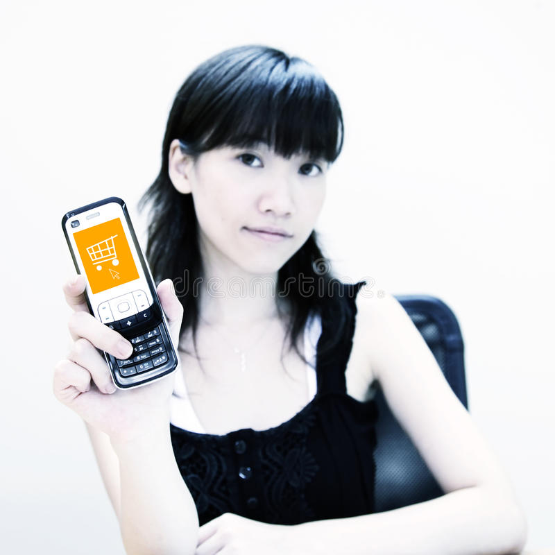 Índice do móbil da compra