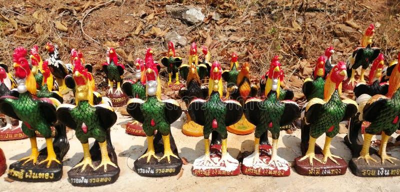 Άγαλμα κοτόπουλου στοκ φωτογραφία