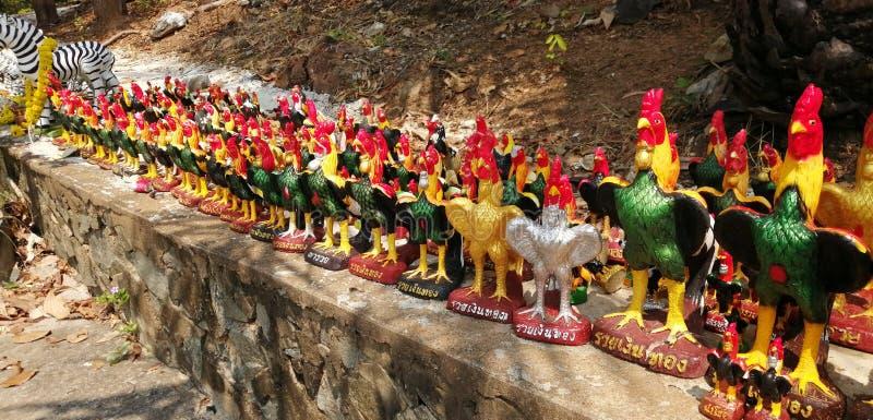 Άγαλμα κοτόπουλου στοκ φωτογραφίες με δικαίωμα ελεύθερης χρήσης