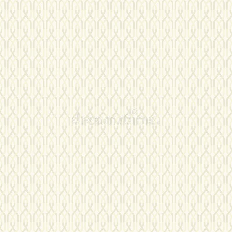 Άνευ ραφής αφηρημένο αναδρομικό γεωμετρικό σχέδιο Τα στοιχεία αλυσίδων στο κάθετο σχεδιάγραμμα ελεύθερη απεικόνιση δικαιώματος