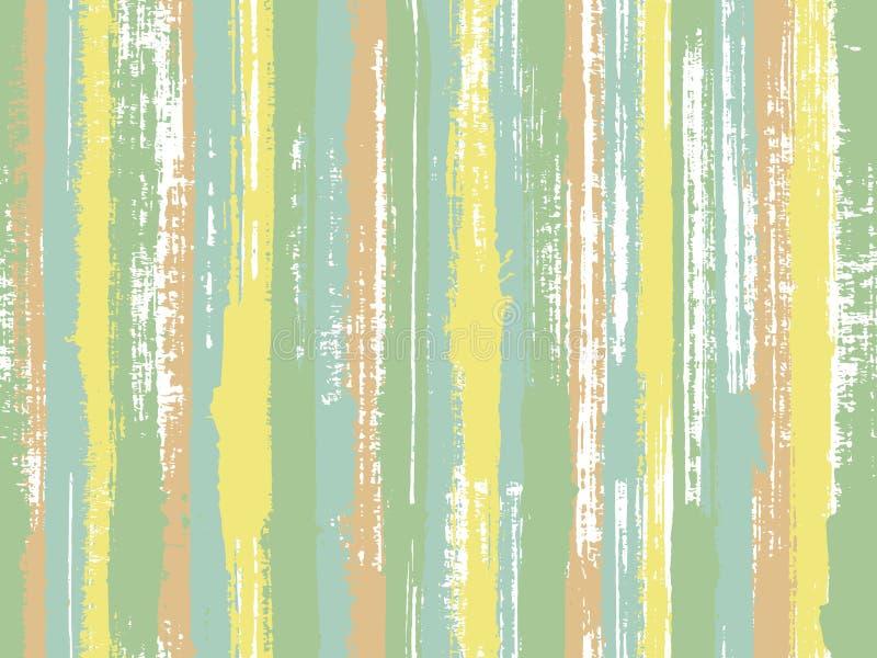 Άνευ ραφής τυπωμένη ύλη σχεδίων υφάσματος γραμμών μελανιού πορτών διανυσματική απεικόνιση