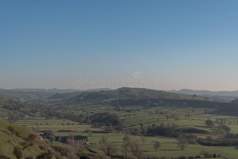 Άποψη της κοιλάδας περιστεριών από το Hill Hitter στοκ εικόνα με δικαίωμα ελεύθερης χρήσης