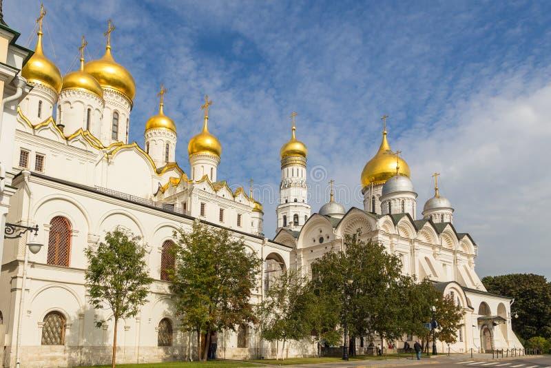 Άποψη του μουσείου της Μόσχας Κρεμλίνο, Μόσχα, Ρωσία στοκ εικόνες