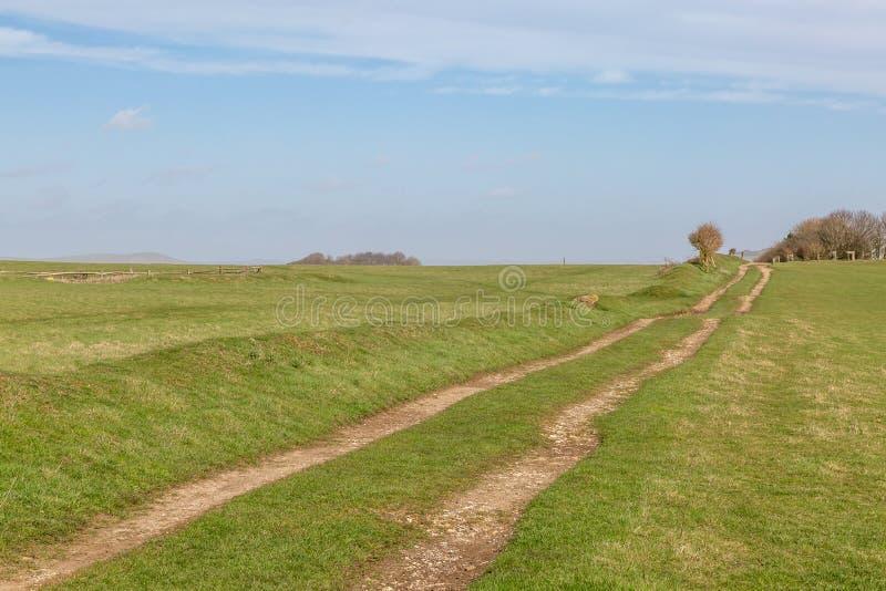 Ένα πράσινο τοπίο του Σάσσεξ στοκ φωτογραφίες με δικαίωμα ελεύθερης χρήσης