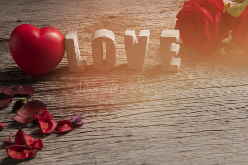 έννοια αγάπης βαλεντίνων στοκ εικόνες