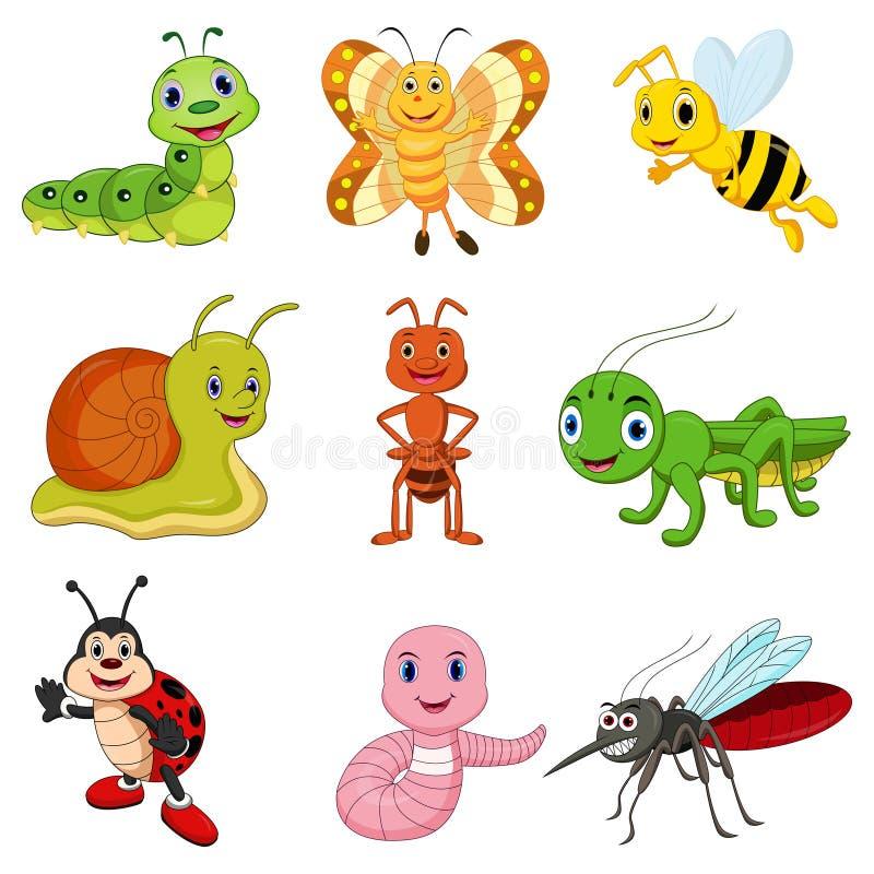 έντομα που τίθενται διαν&upsilo απεικόνιση αποθεμάτων