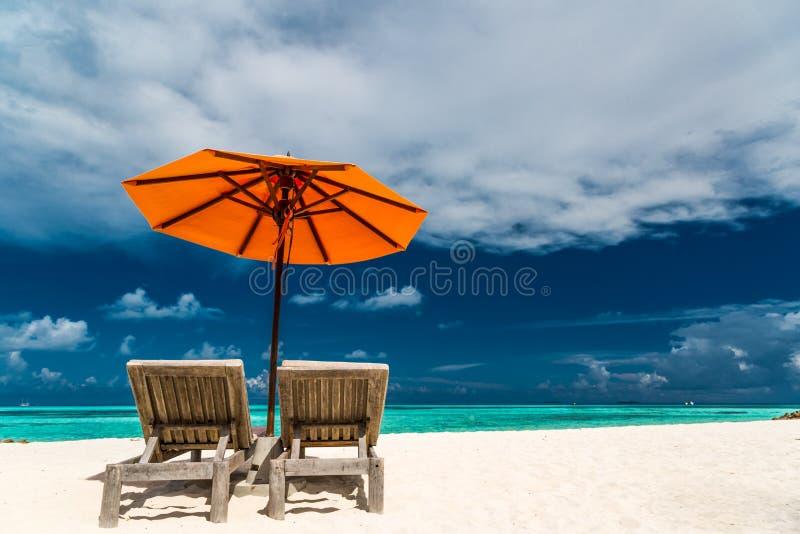 Ήρεμο τοπίο, παραλία χαλάρωσης, τροπικό σχέδιο τοπίων Σχέδιο διακοπών ταξιδιού θερινών διακοπών στοκ φωτογραφίες