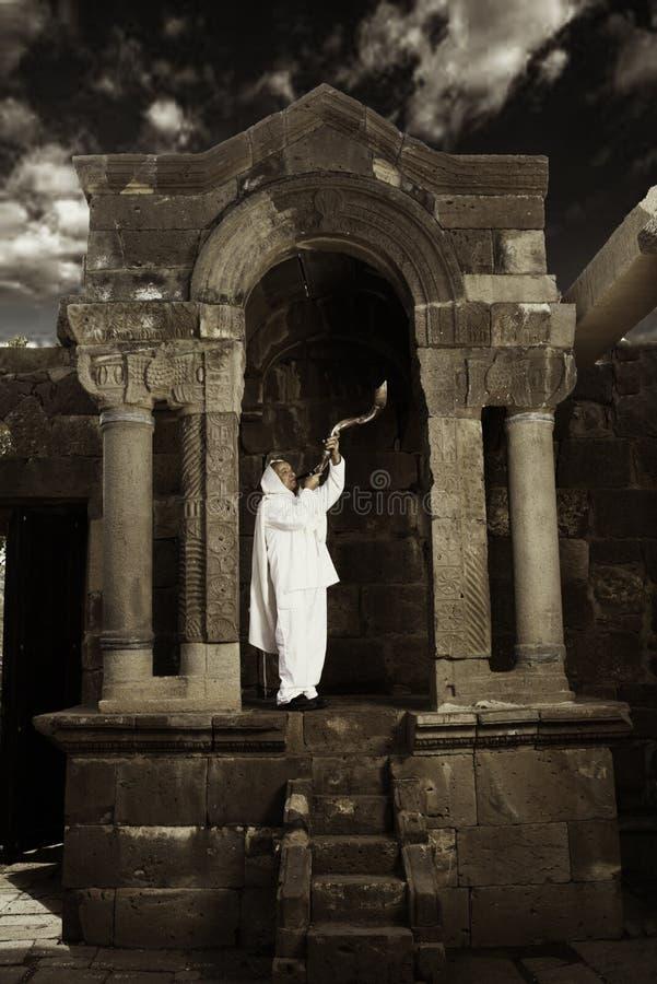 Ήχος Shofar στοκ φωτογραφία με δικαίωμα ελεύθερης χρήσης