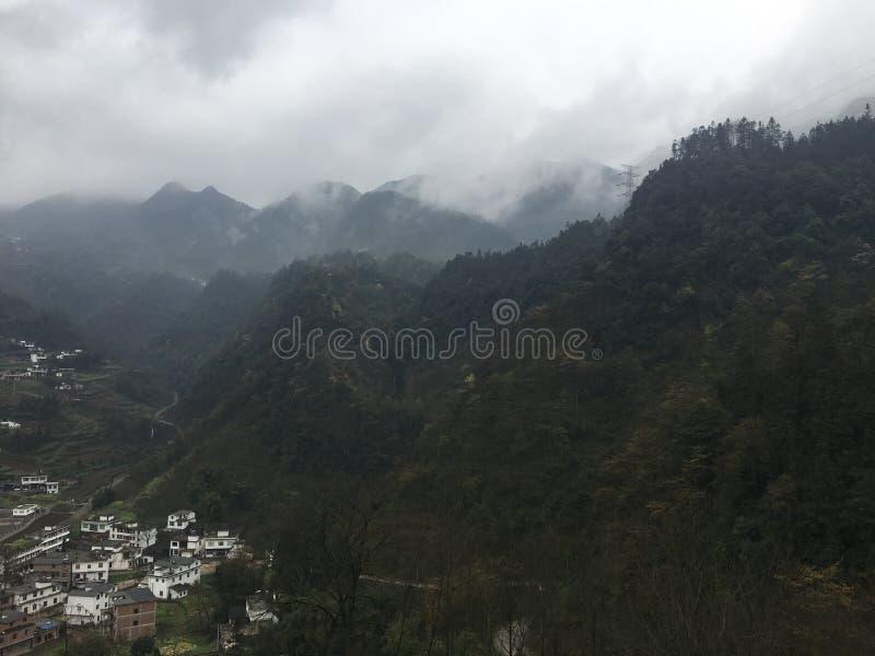 Αγροτικό τοπίο σε Yunnan, από όλες τις κατευθύνσεις στοκ φωτογραφίες