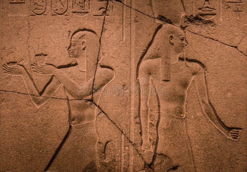 Αιγυπτιακή ταμπλέτα σε συνερχόμενη στη Νέα Υόρκη στοκ εικόνα
