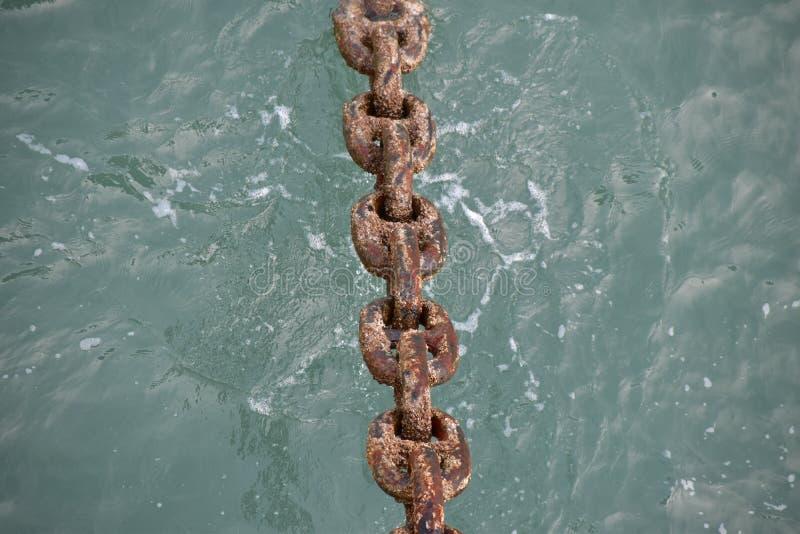 Αλυσίδα αγκύρων στοκ φωτογραφία με δικαίωμα ελεύθερης χρήσης