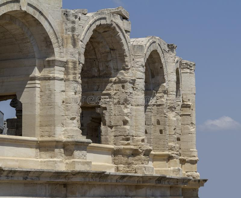 Αμφιθέατρο Arles στοκ φωτογραφία