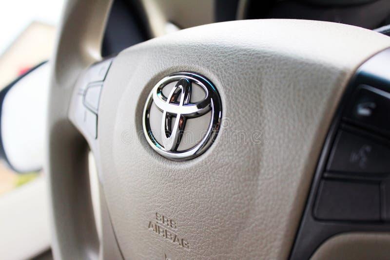 Ανάκληση αερόσακων της Toyota στοκ φωτογραφία