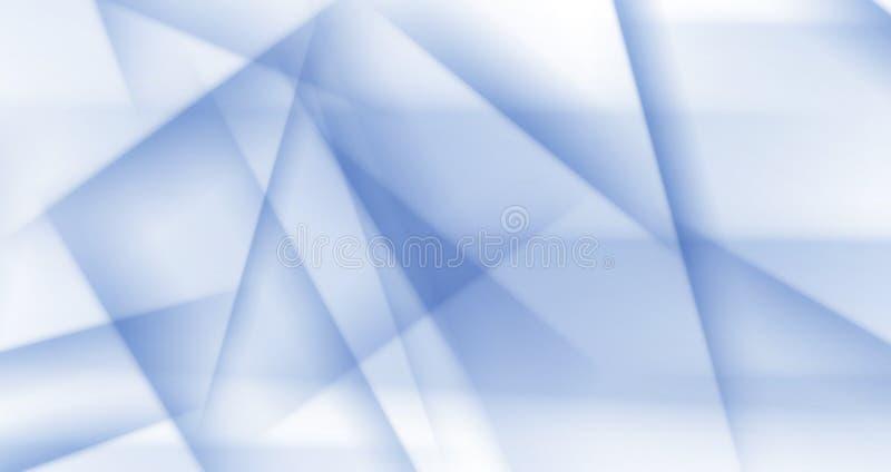 Ανοικτό μπλε διανυσματικό polygonal ημίτονο υπόβαθρο πάγου ελεύθερη απεικόνιση δικαιώματος
