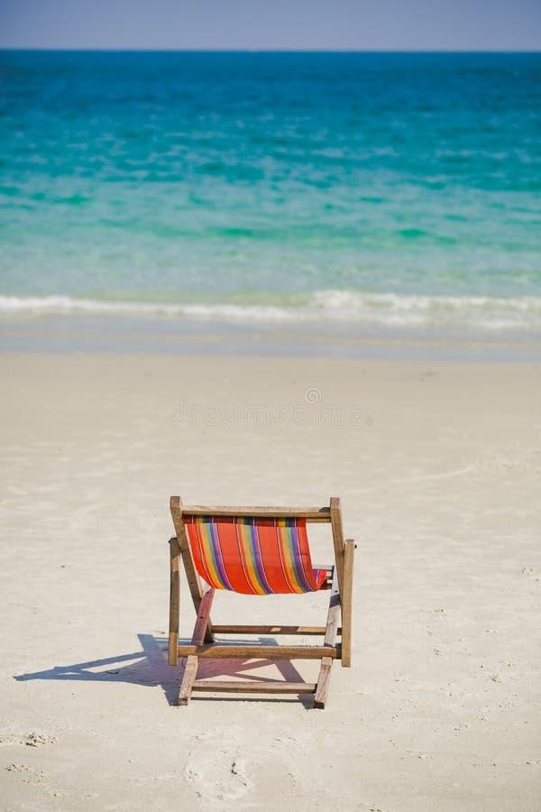Αργόσχολος στην παραλία στην Ταϊλάνδη στοκ εικόνες