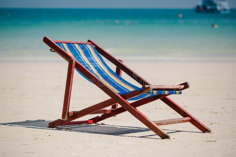 Αργόσχολος στην παραλία στην Ταϊλάνδη στοκ εικόνα με δικαίωμα ελεύθερης χρήσης