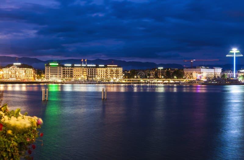 Αρχιτεκτονική της Γενεύης στοκ φωτογραφία με δικαίωμα ελεύθερης χρήσης