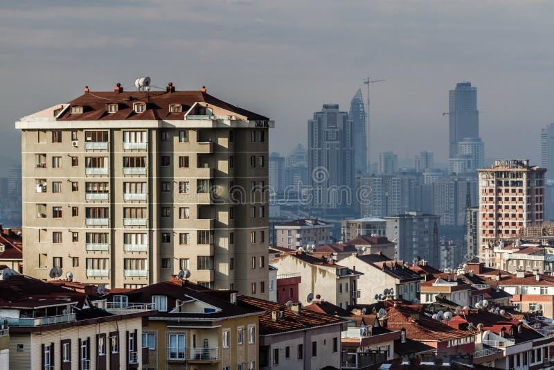 Αστικός μετασχηματισμός και σύγχρονες πολυκατοικίες στοκ φωτογραφίες