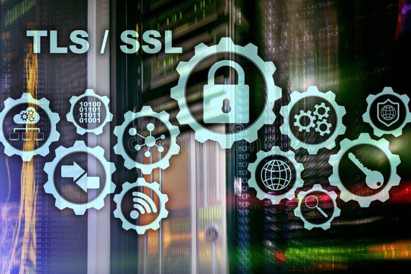 Ασφάλεια στρώματος μεταφορών Εξασφαλίστε το στρώμα υποδοχών SSL TLS τα ryptographic πρωτόκολλα παρέχουν τις εξασφαλισμένες επικοι στοκ φωτογραφία με δικαίωμα ελεύθερης χρήσης