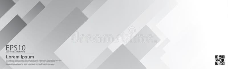 Αφηρημένες υπόβαθρο χρώματος κλίσης γκρίζες/αφίσα, πρότυπο εμβλημάτων διανυσματική απεικόνιση