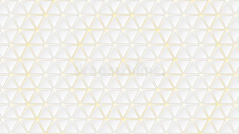 Αφηρημένη ανασκόπηση των τριγώνων απεικόνιση αποθεμάτων
