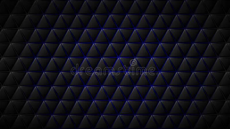 Αφηρημένη ανασκόπηση των τριγώνων ελεύθερη απεικόνιση δικαιώματος