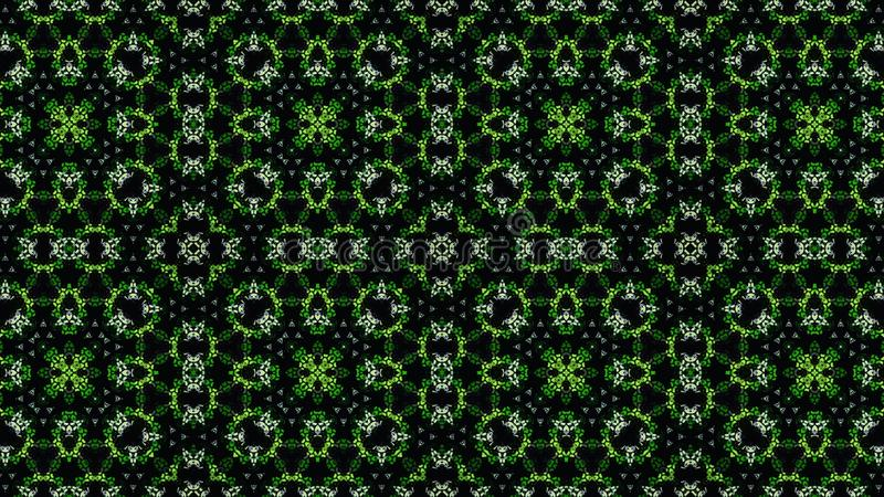 Αφηρημένη κιτρινοπράσινη άσπρη μαύρη ταπετσαρία χρώματος στοκ εικόνες