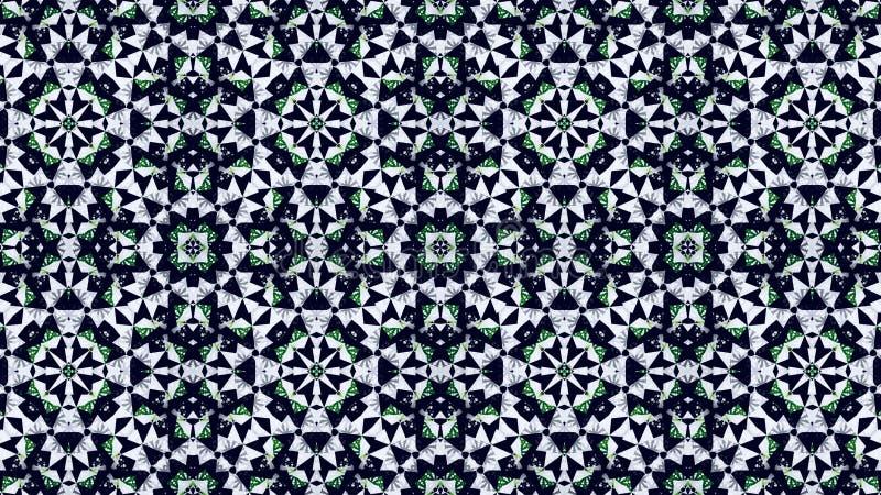Αφηρημένη πράσινη άσπρη μαύρη ταπετσαρία χρώματος στοκ εικόνες
