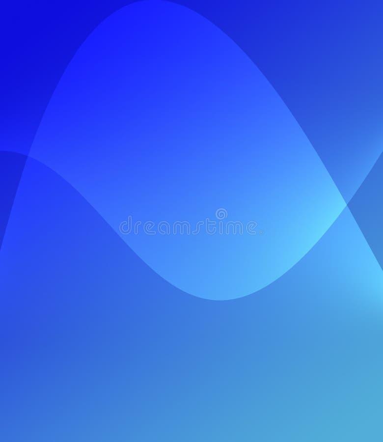 Αφηρημένο μπλε υπόβαθρο κλίσης για τις ταπετσαρίες ιστοχώρων διανυσματική απεικόνιση