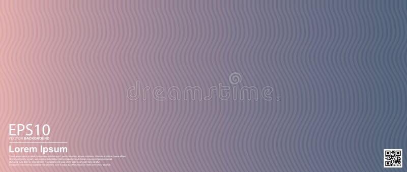 Αφηρημένο διανυσματικό ζωηρόχρωμο υπόβαθρο σχεδίων κυμάτων Αφίσα, πρότυπο εμβλημάτων απεικόνιση αποθεμάτων