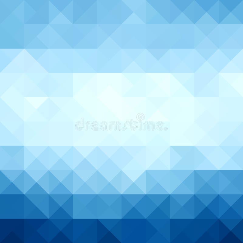Αφηρημένο σύγχρονο γεωμετρικό μπλε υπόβαθρο, μπλε μορφές τριγώνων απεικόνιση αποθεμάτων