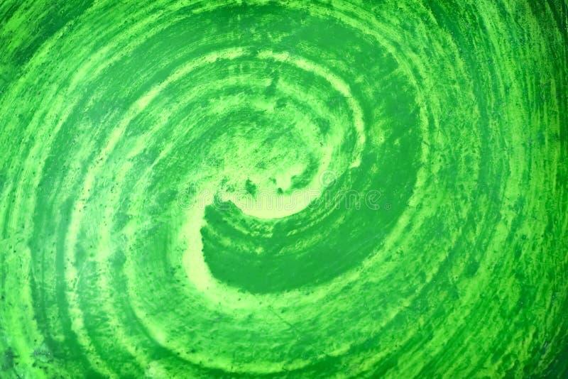Αφηρημένο στρώμα σχεδίων της ζωηρόχρωμης πράσινης σύστασης χρωμάτων για το υπόβαθρο στοκ εικόνα