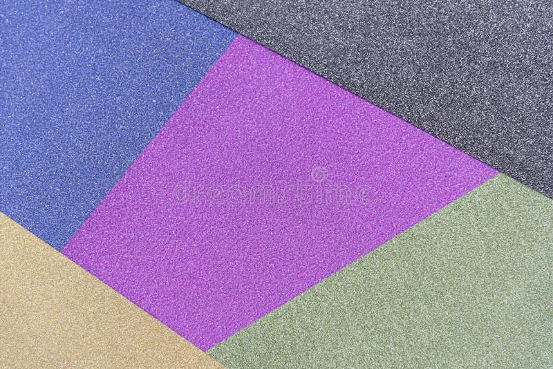 Αφηρημένο χρωματισμένο κρητιδογραφία υπόβαθρο μινιμαλισμού σύστασης εγγράφου Ελάχιστες γεωμετρικές μορφές και γραμμές στα χρώματα στοκ εικόνες με δικαίωμα ελεύθερης χρήσης