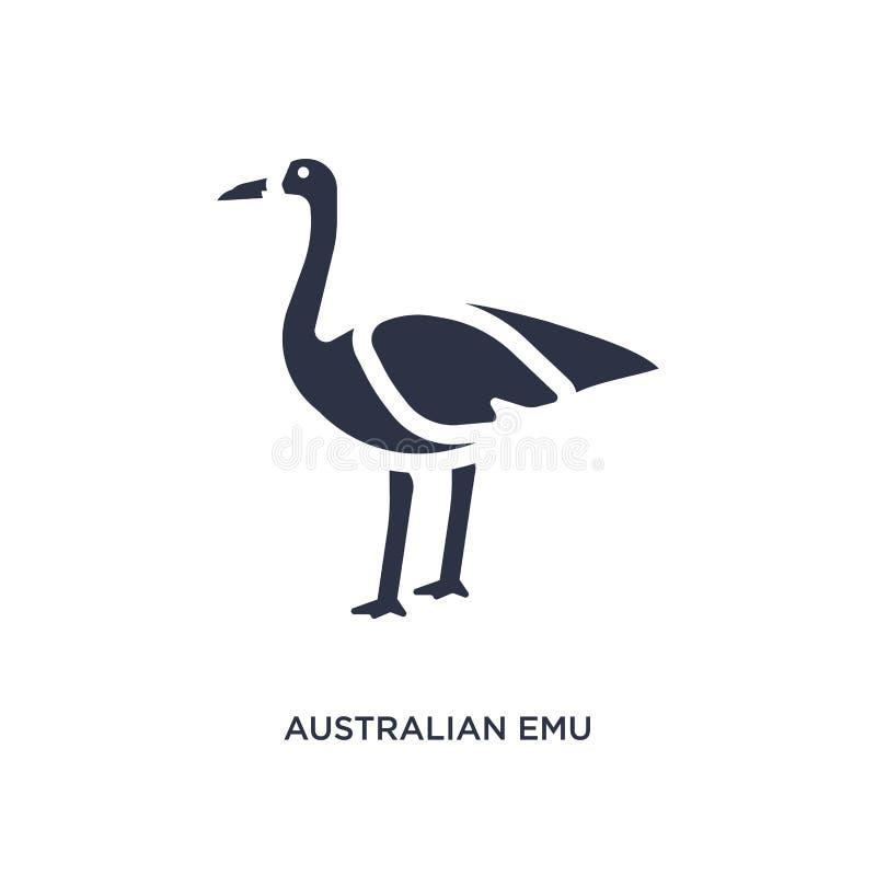 αυστραλιανό εικονίδιο ΟΝΕ στο άσπρο υπόβαθρο Απλή απεικόνιση στοιχείων από την έννοια πολιτισμού ελεύθερη απεικόνιση δικαιώματος