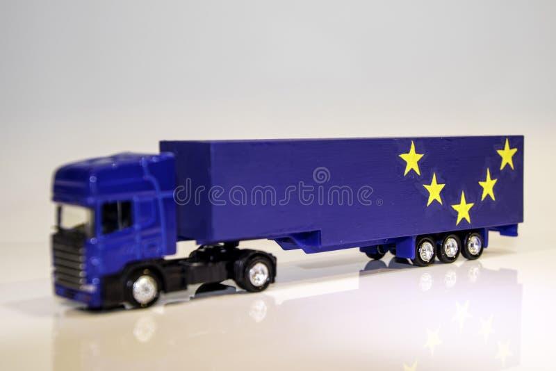 Βαρύ όχημα αγαθών Brexit στοκ φωτογραφίες με δικαίωμα ελεύθερης χρήσης