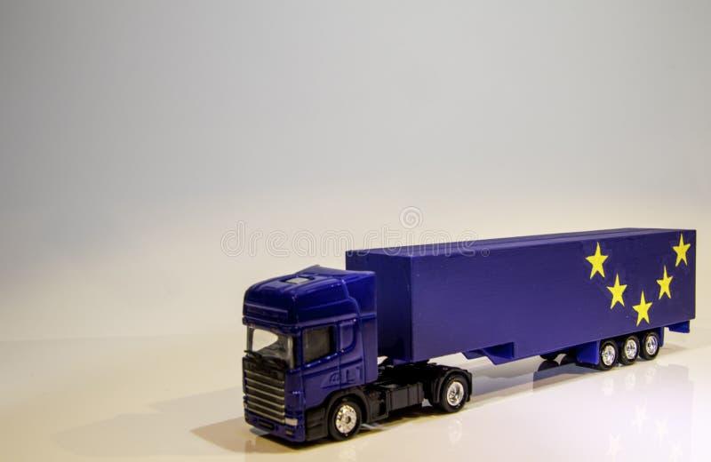 Βαρύ όχημα αγαθών Brexit στοκ φωτογραφίες